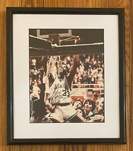 Magic Johnson Signed 8x10 Photo Autographed Framed 12x15 UDA COA Michigan State