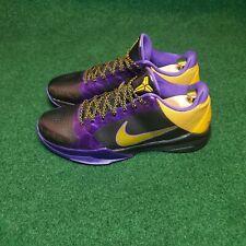 Nike Zoom Kobe 5 V Del Sol Lakers Size 10.5  386429-071 No box