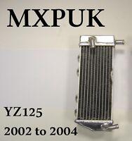 YZ125 2002 LEFT SIDE RADIATOR PERFORMANCE RAD 2002  YZ 125 MXPUK (038B)