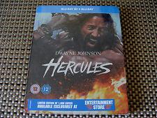 Blu Steel 4 U: Hercules : 3D & 2D Limited Edition 1000 Steelbook 2 Discs Sealed