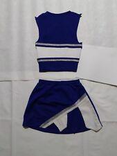 "Blue Gladiator Cheerleader Uniform Halloween Costume Football Game Top 28/24"""