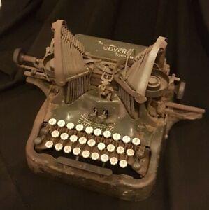 Antique Oliver No.9 Standard Visable Typewriter sold for restoration