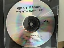 Willy Mason Where The Humans Eat Promo CD