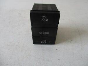 AUDI A6 MULTIFUNCTIONAL TRIPOMETER CHECK SWITCH 4F0927123A