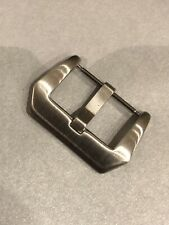 Stainless Steel Tang Buckle For Panerai Brushed SilverFinish. 20mm 22mm 24mm