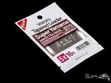 Varivas Super Yamame Match The Hatch Leader   16ft   x5 x6 x7