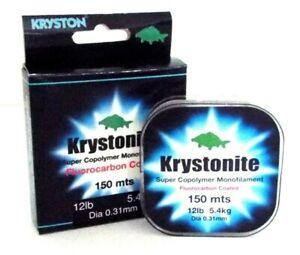 Kryston Fluoro 150M Carp Line  12lb  Carp, Pike, Coarse Fantastic Line £4.99