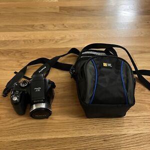 Fuji Fujifilm Finepix S700 7.1MP Digital Camera w/10x Zoom Tested Case Logic Bag