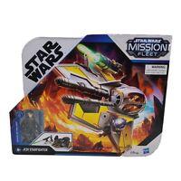 Star Wars Mission Fleet Jedi Starfighter With Anakim Skywalket NIB Hasbro 2020