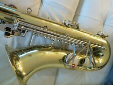 Silvertone Tenor Saxophone