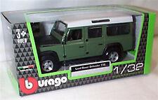 Land Rover Defender bomberos 1//50 Bburago Burago maqueta de coche modelo coche