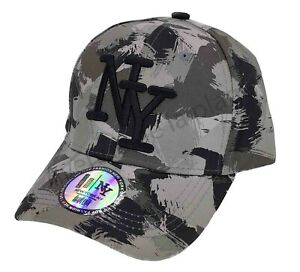 Casquette NY New York chasse gris Taille enfant 54 accessoire mode neuf