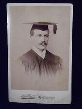 Antique ID'd Cabinet Photograph - Graduate Franklin H. Moyer Lancaster PA