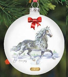 Breyer 700813 Artist Signature Glass Ornament (Modellpferd)
