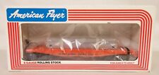 AMERICAN FLYER #6-48505 ILLINOIS CENTRAL FLAT CAR WITH BULKHEADS-MIB!