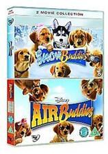 SNOW BUDDIES & AIR BUDDIES 2 DISC BOX SET WALT DISNEY UK 2008 REGION 2 DVD NEW