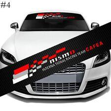 NISMO Racing Team Car Window Windshield Carbon Fiber Vinyl Banner Decal Sticker