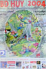 Affiche Poster BATEM BD Huy 2004 40x60 cm