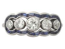 Unbranded Not Enhanced Sapphire Fine Rings
