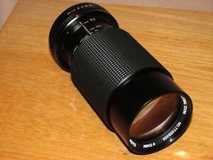 Vivitar 70-210mm 1:4.5 MC Macro Lens Pentax K- Good Condition - Fully Working