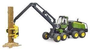 012135 John Deere 1270g Forest Harvester With Trunk