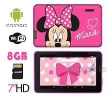 TABLET BAMBINI 7 HD Quad Core Memoria 8 GB MicroSD WiFi Android DISNEY ESTAR
