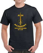 055 Jedi Academy mens t-shirt funny geek star lightsaber wars nerdy costume new