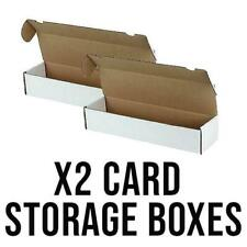 More details for 2 x 1000 count trading card storage box