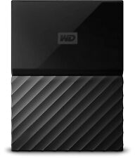 WD 2TB Black My Passport Portable Hard Drive - USB 3.0 - WDBS4B0020BBK-WESN