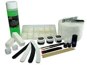 UV 3 in 1 Phasen Gel Set Nagelgel Nagel-Cleaner Zelletten Nageltips Nagelfeilen