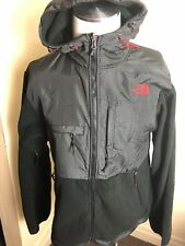 The North Face Men's Fleece Black Jacket XL BLACK CHECKERS HOODED FULL ZIP
