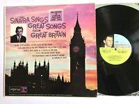 FRANK SINATRA Sings Great Songs From Great Britain 1962 Reprise Vinyl LP VG/VG