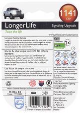 Courtesy Light Bulb-LongerLife - Twin Blister Pack Philips 1141LLB2