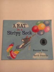A Rat in a Stripy Sock by Frances Watts (mini paperback)