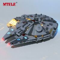 LED Light Up Kit For LEGO 75257 Star war 2019 New Edition Millennium Falcon set