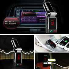 Wireless Bluetooth LCD Car Kit MP3 Player FM Transmitter Modulator USB Charger
