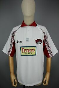 Vintage Asics Leeds Rhinos 1999 Rugby Super League Shirt Size M