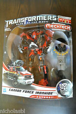 Transformers Movie Voyager Cannon Force Ironhide DOTM MISB Genuine US Version