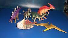 Spielfiguren ,Tiere , 6 Dinosaurier  9- 17 cm   Nr.19