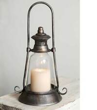Antique style Edmonton Candle Lantern Vintage Farmhouse Rustic Country Decor