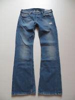 Diesel ZATHAN wash 008IK Bootcut Jeans Hose, W 31 /L 32, Vintage Denim, KULT !