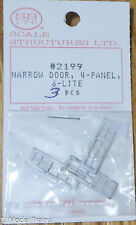 SS Ltd. HO #2199 Narrow Door 4 Panel, 6 lite (3 pcs.)