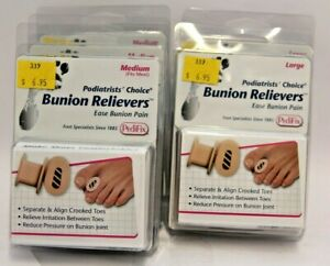 PediFix Bunion Relievers Medium (Fits Most) or Large (2 pieces)