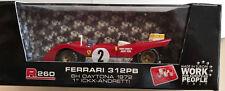 Brumm 1/43 R260 #2 Ferrari 312pb 72-Daytona  Jacky Ickx + Mario Andretti