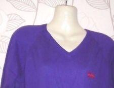 Superdry 100% Cotton Purple Sweats- Size-M