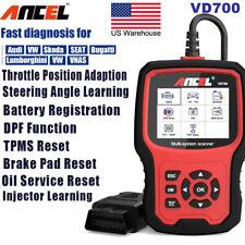Car OBD2 Scanner ABS SRS TPMS EPB DPF BAT Oil Reset Diagnostic Scan Tool for VAG