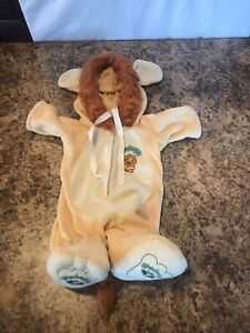 VTG 1984 Cabbage Patch Kids Coleco Lion Footed Outfit Costume Pajamas for Doll