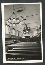 Wissenkerke  Interieur Ned. Herv. Kerk voor de restauratie