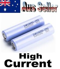 2x 25s Samsung 18650 INR 25S 2500mAh HIGH CURRENT rechargeable Lithium batteries