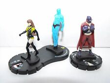 HEROCLIX THE WATCHMEN LOT  HOODED JUSTICE - SILK SPECTRE AND DR. MANHATTAN